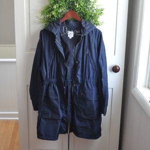 GAP Spring/Fall Anorak Jacket Navy Blue Large/XL